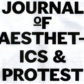 The Journal of Aesthetics & Protest