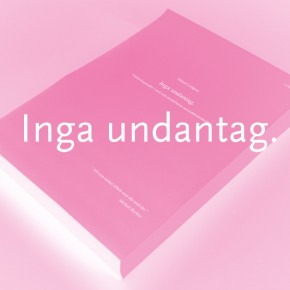 Release of the report Inga undantag (No Exceptions)