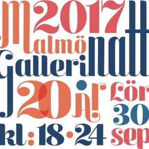 Malmö Gallerinatt 2017