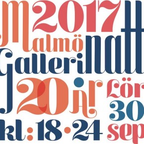 Malmö Gallery Night 2017
