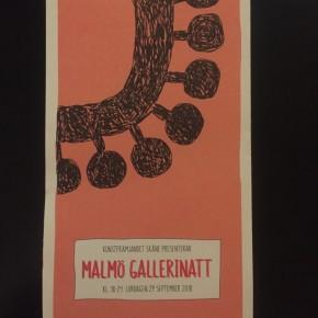 Malmö Gallerinatt 2018